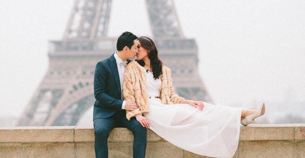 優雅時尚 生活化巴黎婚紗照 (French Grey Photography 拍攝)