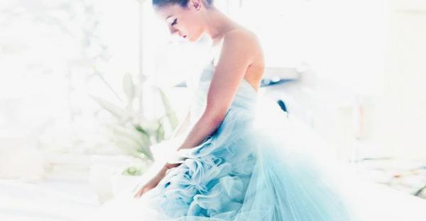 """無法敵擋的藍色浪漫 – 55 個""""Something Blue"""" 創意新娘物品!"""