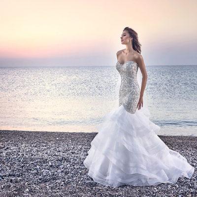 人魚公主的浪漫魅力 – 40件時尚曲線魚尾婚紗