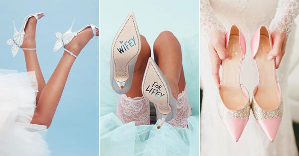 可愛教主嫁到! 23雙摩登新娘的俏麗婚鞋!