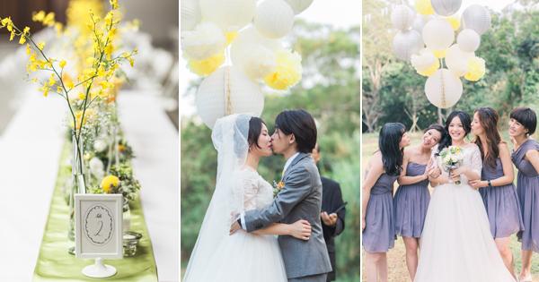 清新浪漫 創意美式戶外婚禮 (Allen Fu 拍攝)