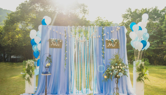 32個比童話更浪漫的夏季婚禮儀式佈置