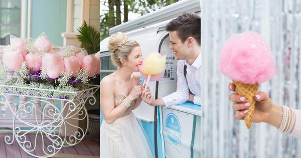 讓每顆少女心都融化的超夢幻棉花糖主題婚禮!