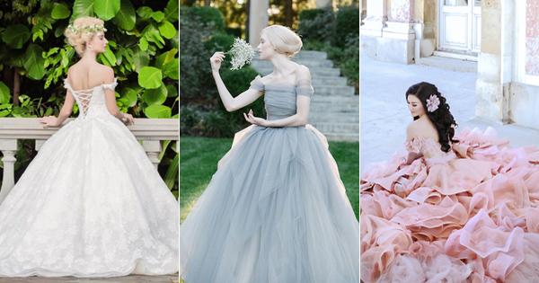 創造自己的童話! 25 件絕美現代版童話公主婚紗!