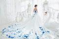 女王氣勢隆重登場! 30件驚艷全場的華麗時尚婚紗!