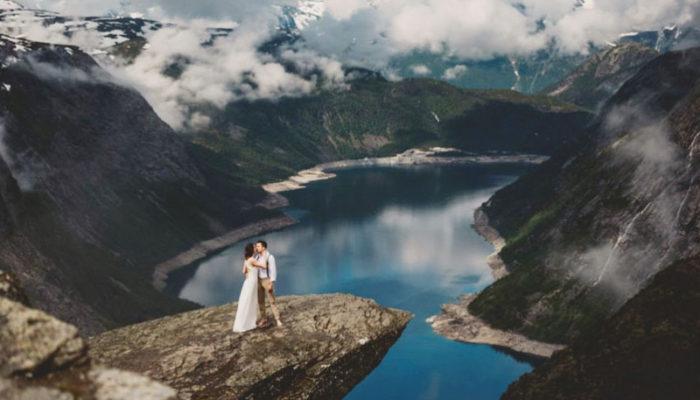 捕捉世界各地的震撼美景! 32張浪漫旅拍婚紗照!