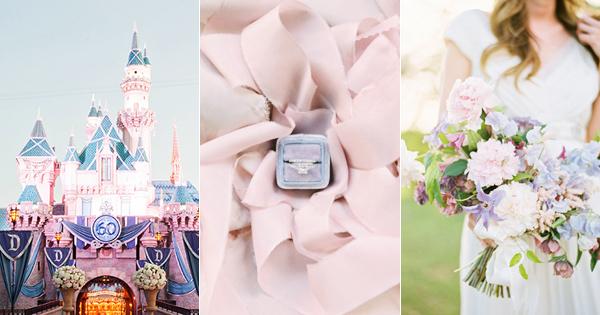 全世界女人都在Follow的2016代表色 – 「玫瑰石英」與「寧靜藍」婚禮主題配搭!