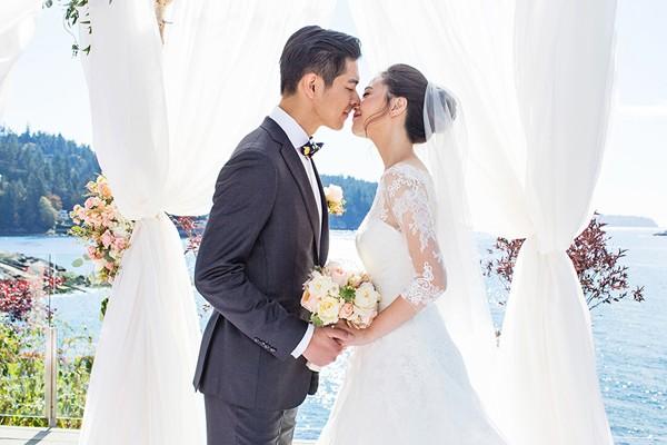 夢幻唯美加拿大私人小島婚禮 (Denise Lin 拍攝)