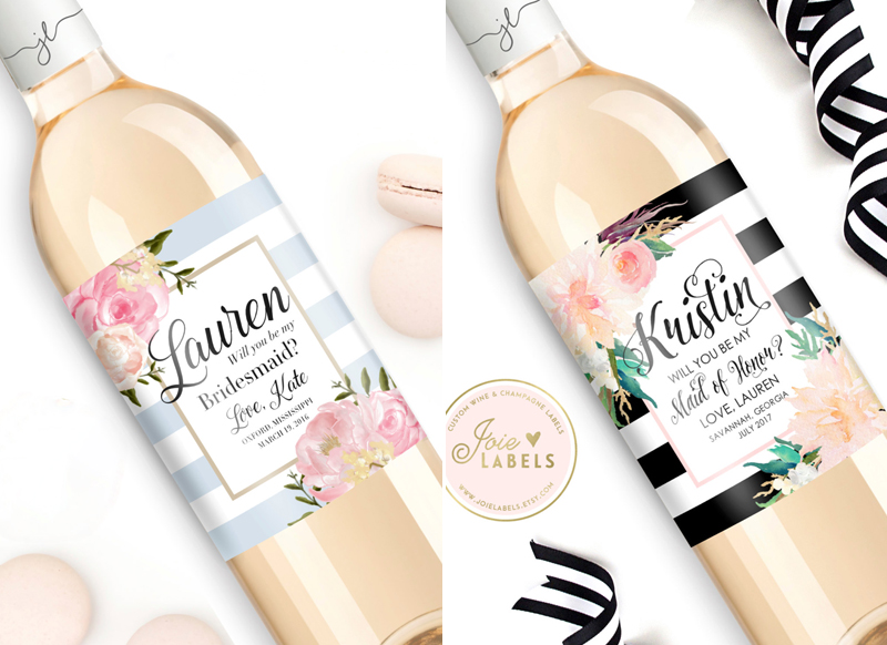 17-Custom-Will-You-Be-My-Bridesmaid-Wine-Bottle-Label(JoieLabels)