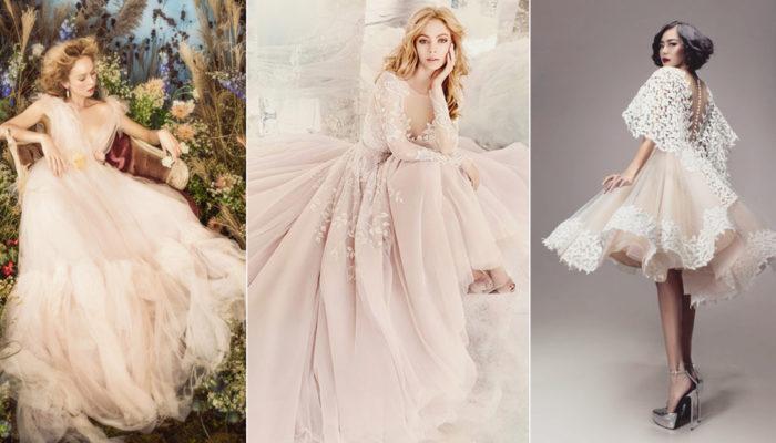 充滿女人味的微甜色彩! 25件夢幻脫俗腮红粉禮服