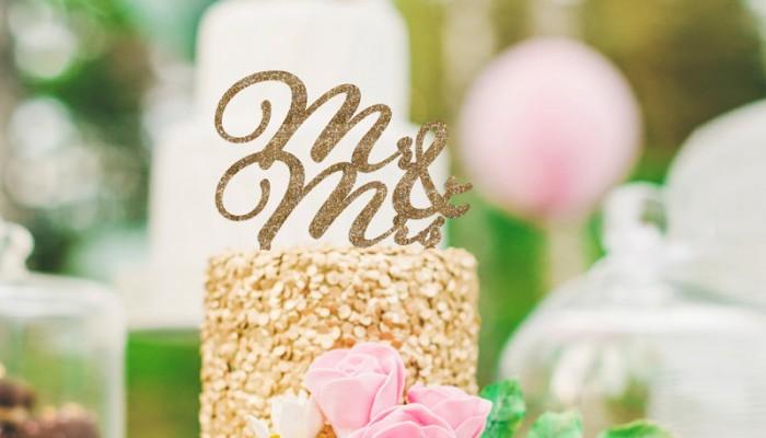甜蜜的小資創意 – 26個可愛時尚蛋糕頂飾(Cake Toppers)!