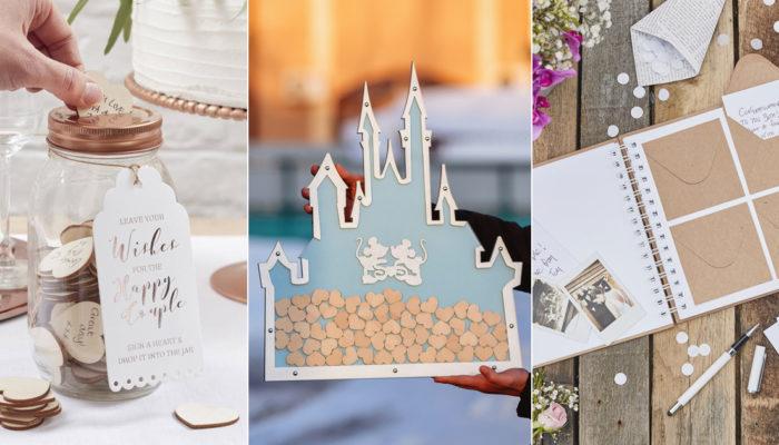 簽到好好玩! 15個超乎你想像的創意趣味婚禮簽名簿!