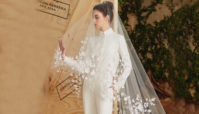 不走公主風! 中性新娘的帥氣首選 – 20 件時尚個性婚紗!