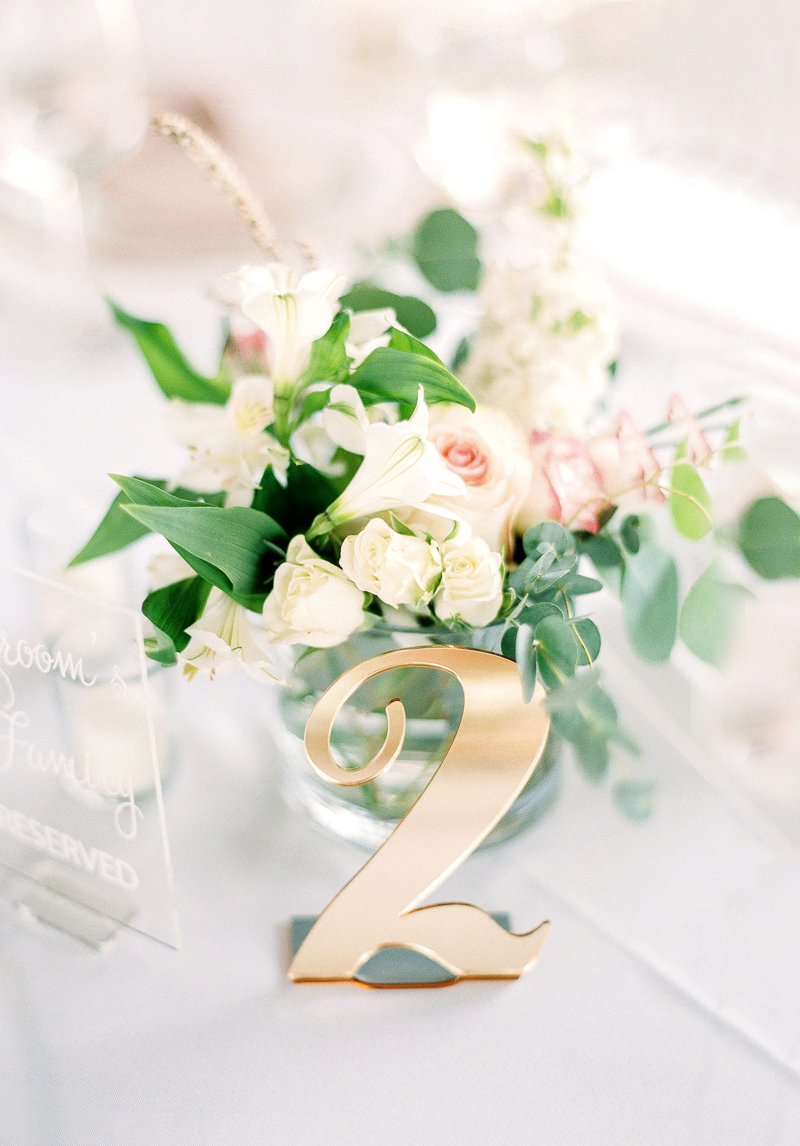 14-Elegant Table Numbers