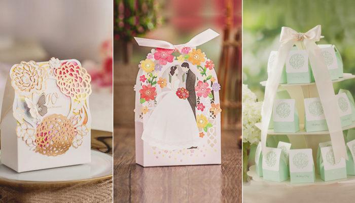 外表真的很重要! 23款改變禮物質感的婚禮小物包裝盒!