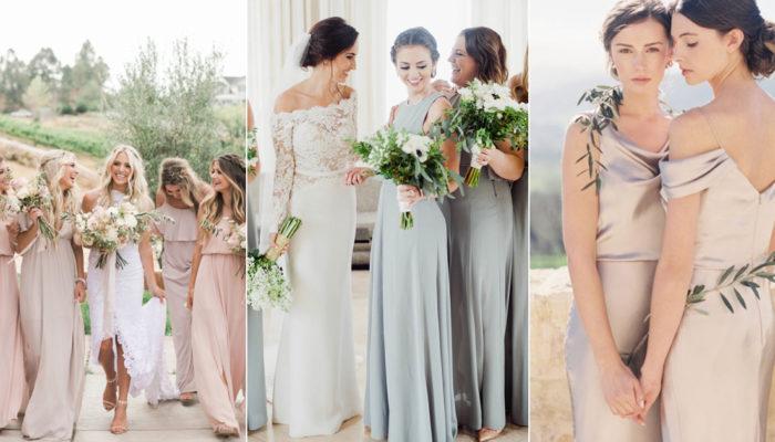 姊妹也要像仙女! 20 款優雅氣質雜誌風伴娘禮服