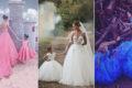 迷你版新娘! 小花童與新娘的超可愛禮服配搭!