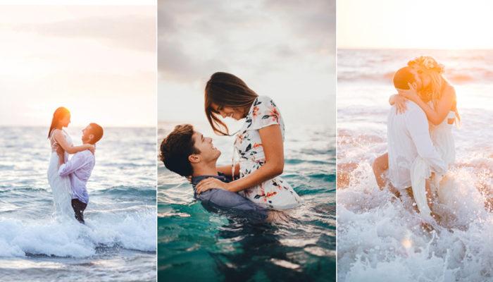 海景婚紗照就要這樣拍! 32張浪漫海景婚紗國際佳作