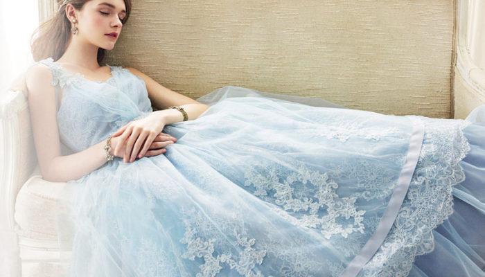 無與倫比的藍色浪漫! 八種不同層次的藍色婚紗,妳最適合哪一種?