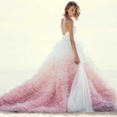 甜蜜溶解的仙女系色彩 – 37件夢幻時尚漸層色禮服!