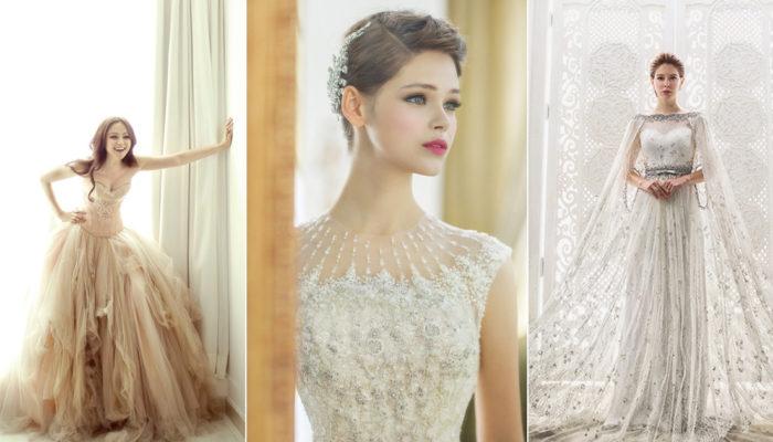 愛時尚就要跟上季節的腳步! 6大奢華典雅秋季婚紗潮流!