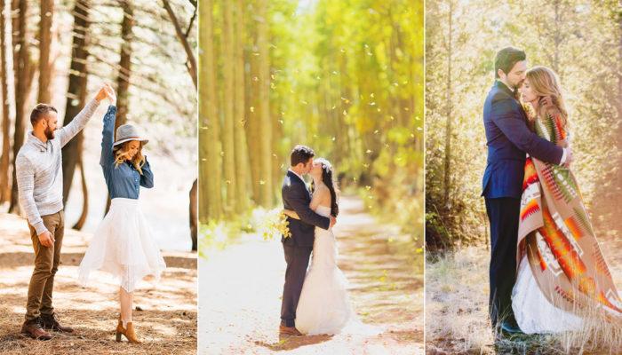最想戀愛的季節 – 20張絕美浪漫秋季婚紗照!