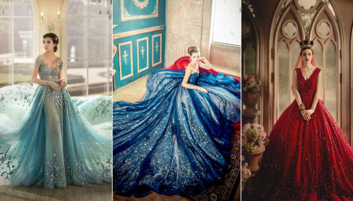 秋季時尚寶石色系大流行! 24件奢華迷人寶石色晚禮服