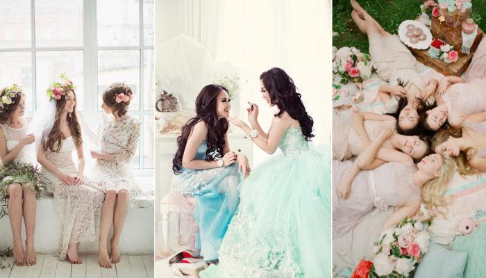 幸福有妳們才完整! 姐妹婚紗潮流來襲 – 21張超暖心閨蜜寫真!