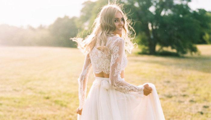 時尚達人嫁到! 45款絕美百搭兩截式婚紗! 上下款式一次搞定!