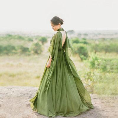 便服婚紗怎麼穿? 秋季時尚造型潮流大公開!