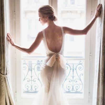 高貴不朽的女王氣勢 – 20件優美典雅珍珠婚紗!