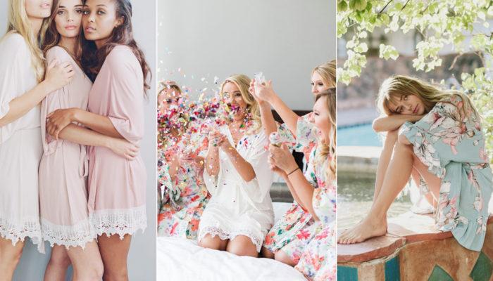 為什麼歐美伴娘都要穿浴袍合照? 21款讓女孩們著迷的姊妹浴袍!