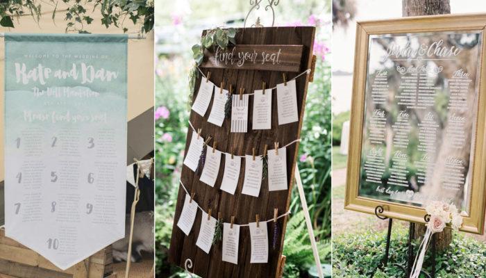 迎賓不馬虎 – 從找座位開始給賓客一個好印象! 32種創意婚禮座位表!