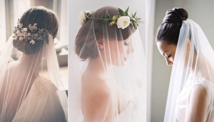 頭紗要配什麼髮型? 怎麼戴才美? 頭紗新娘的髮型秘訣大公開!
