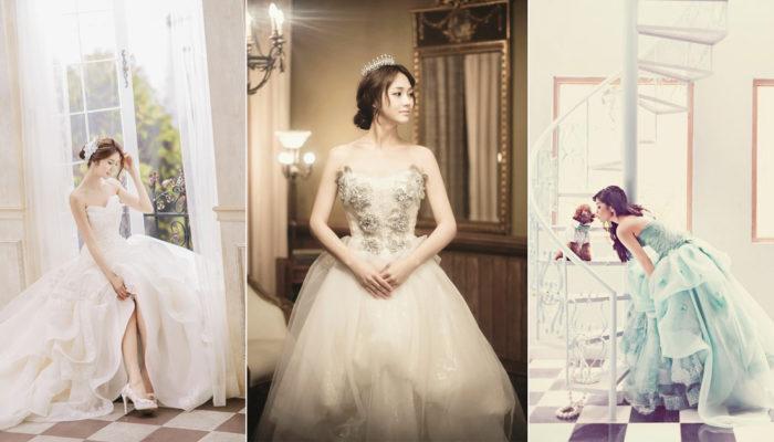 別忘了為美麗的自己拍一組獨照! 26張絕美藝術派單人婚紗!