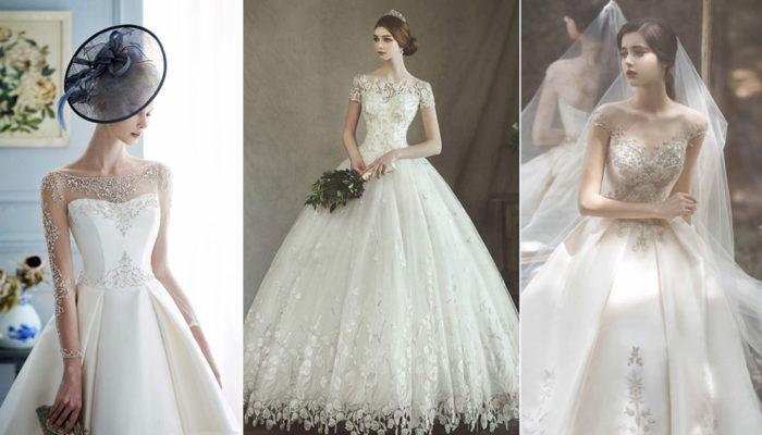 24件時尚「銀河系藤蔓」婚紗! 奢華與優雅完美結合的夢幻點綴!