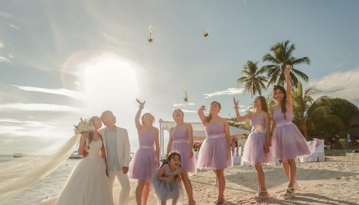 旅行家的浪漫海島婚禮 – 菲律賓薄荷島海外婚禮 (阿力婚禮拍攝)