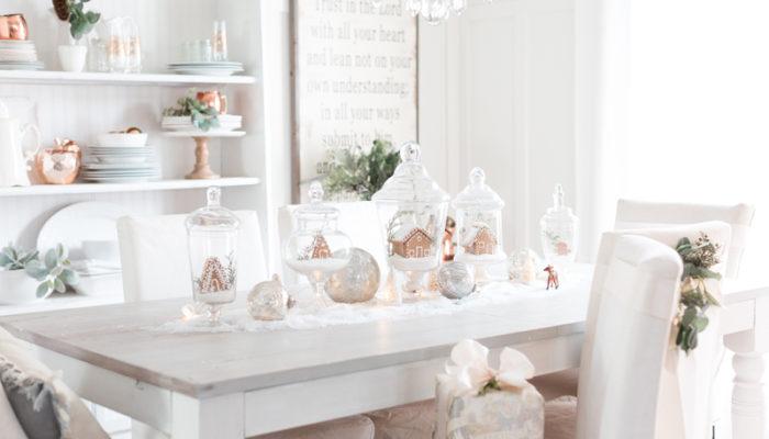 在家過聖誕最有氣氛! 32種創意浪漫聖誕餐桌佈置!