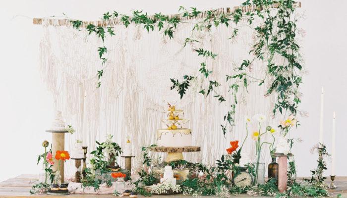 夢寐以求的雜誌款婚禮佈置全靠它們! 浪漫美式春季佈置DIY神助攻!