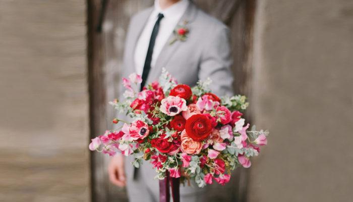 情人節不要再送99朵玫瑰! 12款讓她愛不釋手的時尚情人節花束!