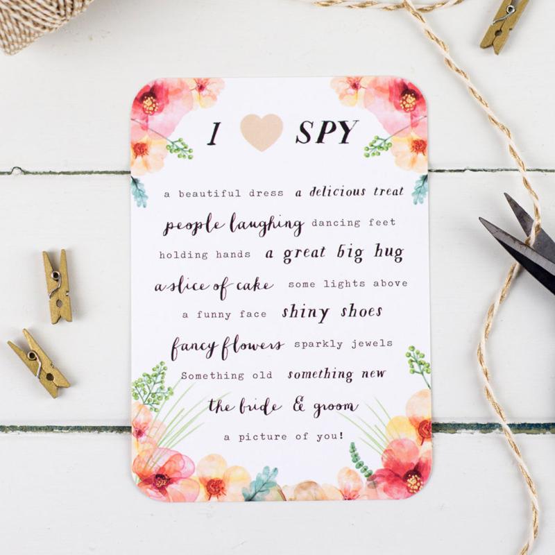 01-Wedding I Spy Game