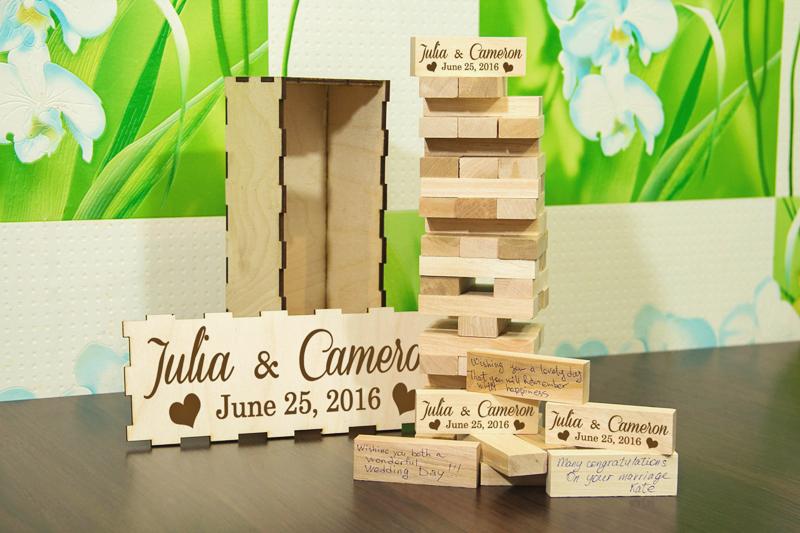 19-Personalized Wedding Jenga