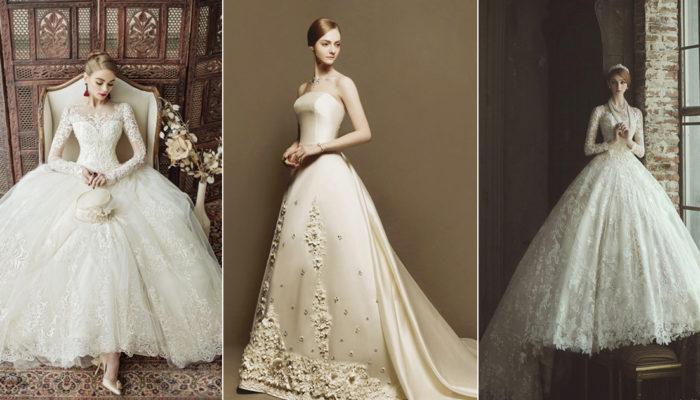 永不後悔的決定!  20件20年後依然會流行的經典婚紗禮服!