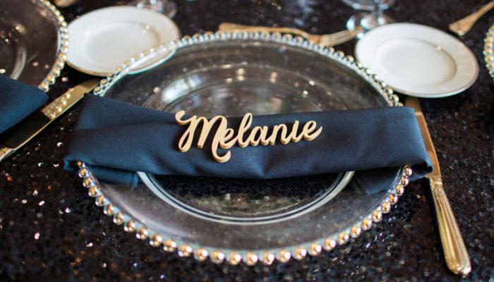 只能屬於你! 25個專屬感滿分的客製化刻字婚禮創意!