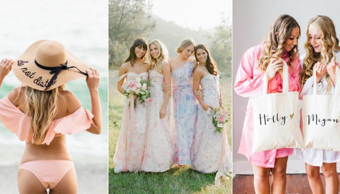 最好的禮物就是一起變漂亮! 26個姊妹們真的會喜歡的時尚伴娘禮!