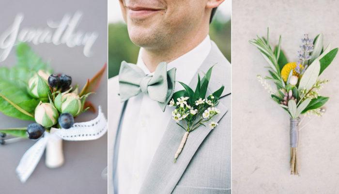 男生也會喜歡的花藝! 20種展現紳士Man力的氣質胸花!