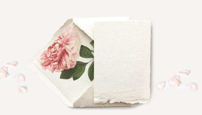 隱藏的驚喜! 再簡單的喜帖也能瞬間升級! 19個美麗婚卡內襯信封!