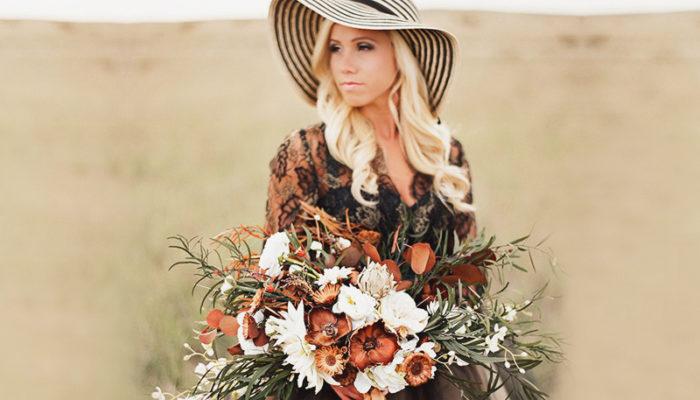 誰說捧花一定要走甜美路線? 24種適合個性女孩的時尚捧花!