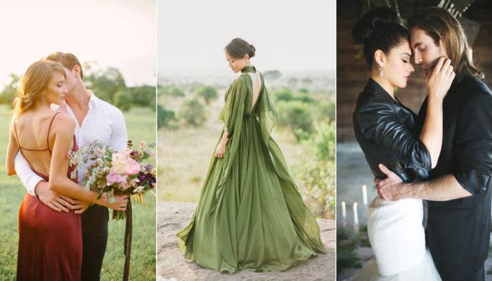 便服婚紗怎麼穿? 掌握這7種時尚秋季穿搭元素!