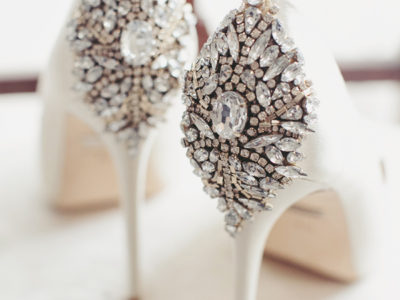 Crystal Embellished Pump